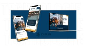 Refonte du site internet de DRA Technologies par l'agence web Digital Cover à Lyon