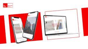 Référence emlyon junior entreprise, refonte du site internet vs mobile par Digital Cover, agence web à Lyon